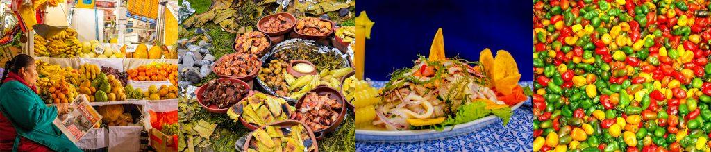 ペルーの食材